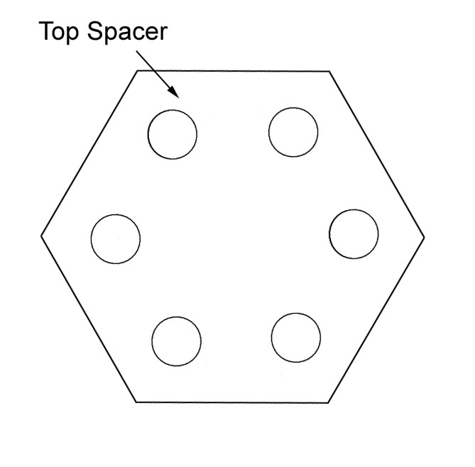 top spacer